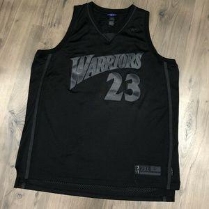 Vintage Reebok Jason Richardson Warriors Black Out